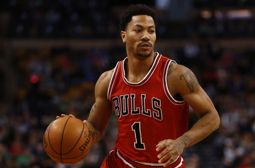 Derrick Rose with incredible basket (Video)