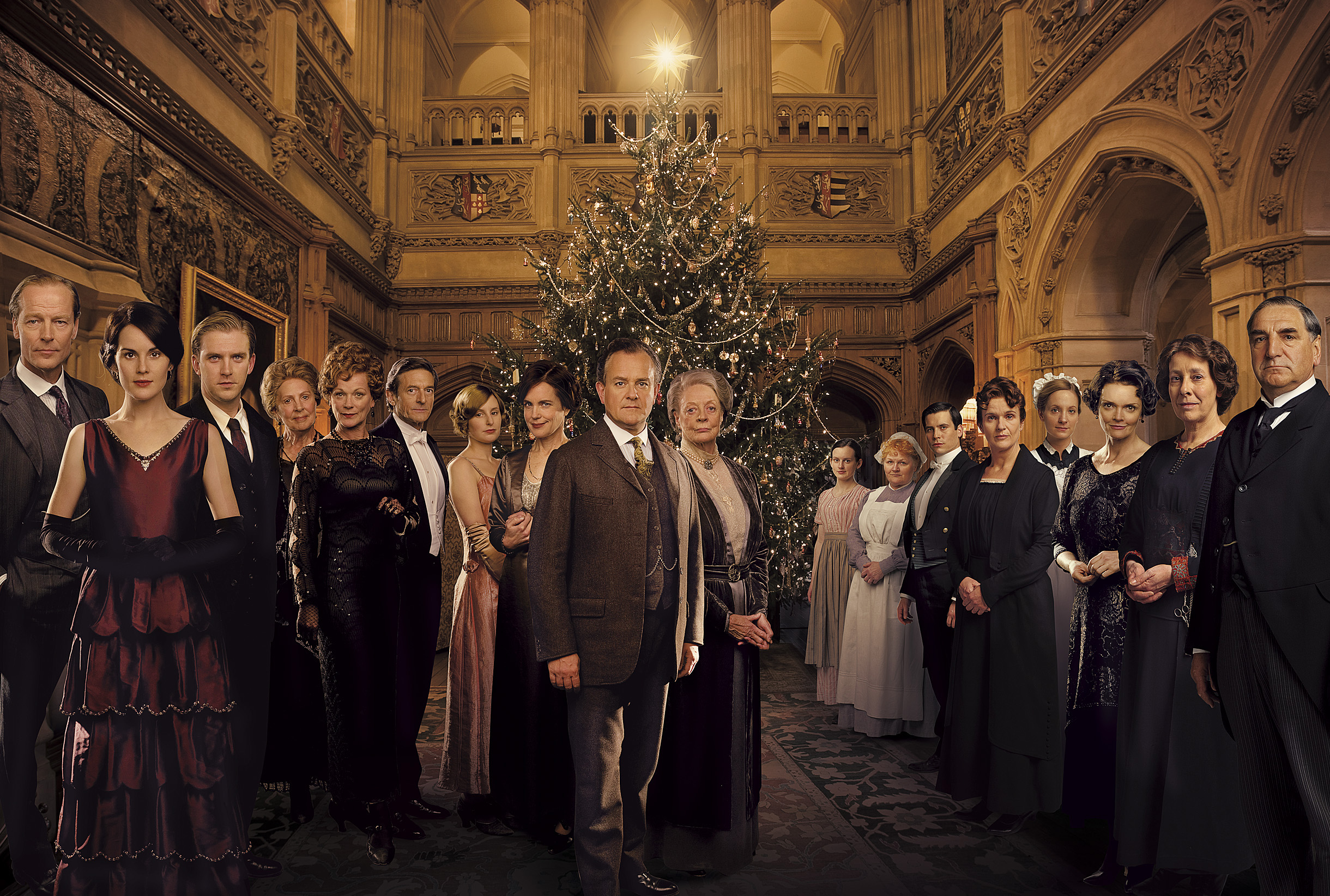 [Série] Downton Abbey (2010-2015) Downton-abbey-wallpaper-