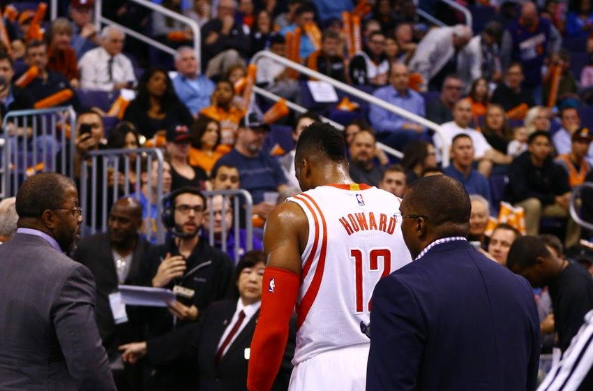 Rockets Dwight Howard Leaves Game With Ankle Injury