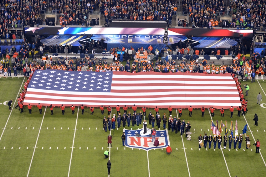 Top 5 Super Bowl National Anthem Performances