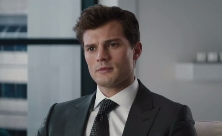 christian turns the tables in new clip from fifty shades of grey video. Black Bedroom Furniture Sets. Home Design Ideas