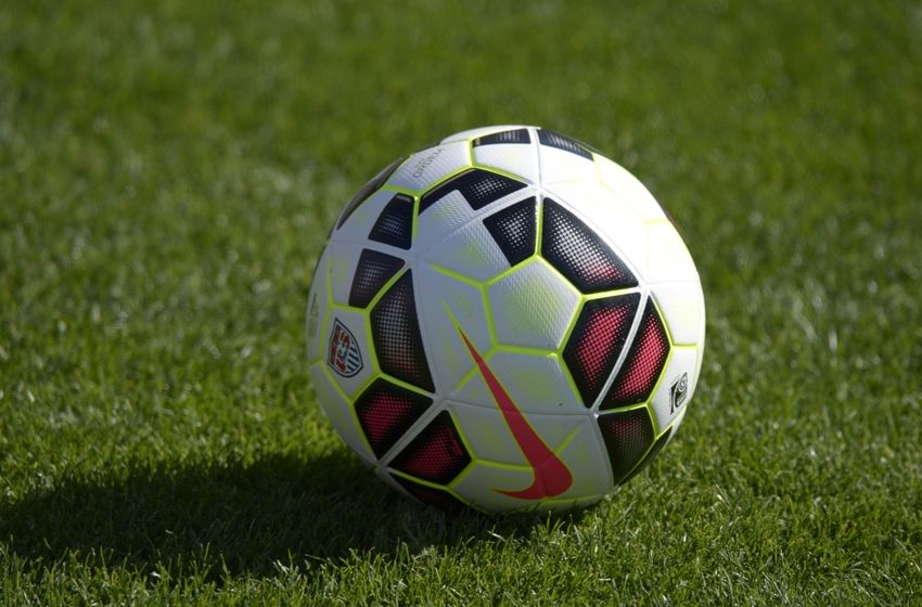nike soccer ball on field wesharepics