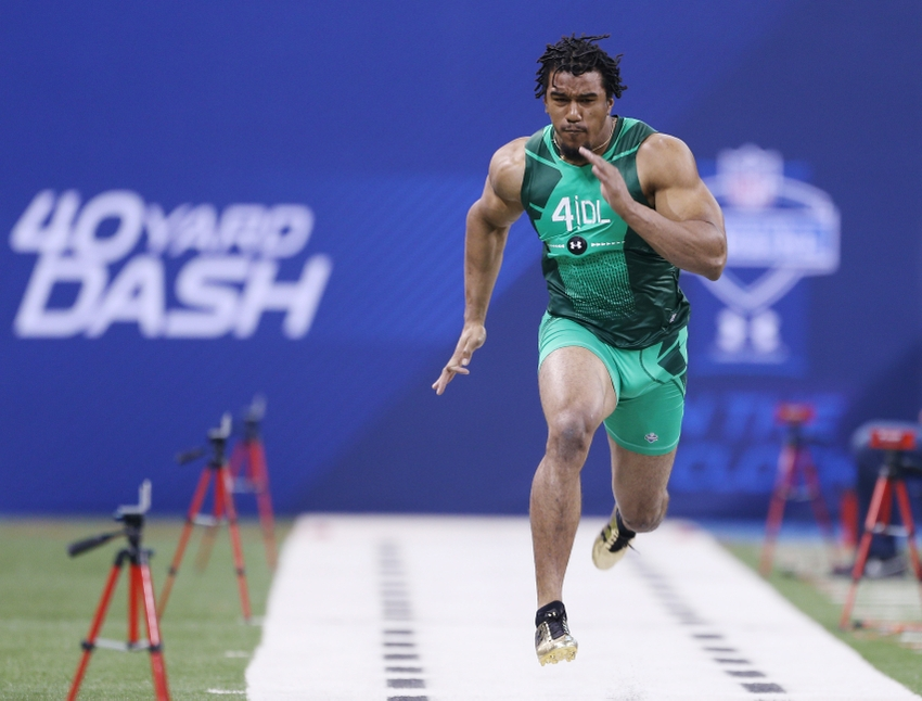 Nfl Scouting Combine 2016 Fastest 40 Yard Dash Record