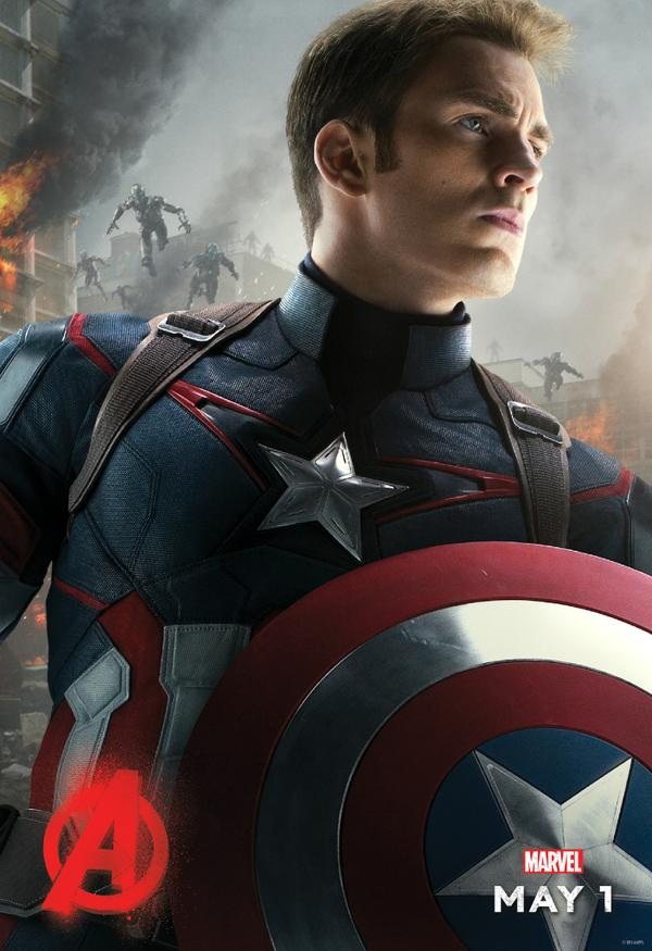 Captain America featured in new character poster for ...