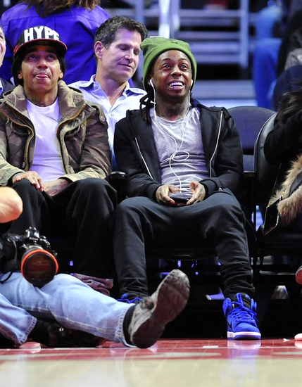 Lil wayne nba indiana pacers los angeles clippers