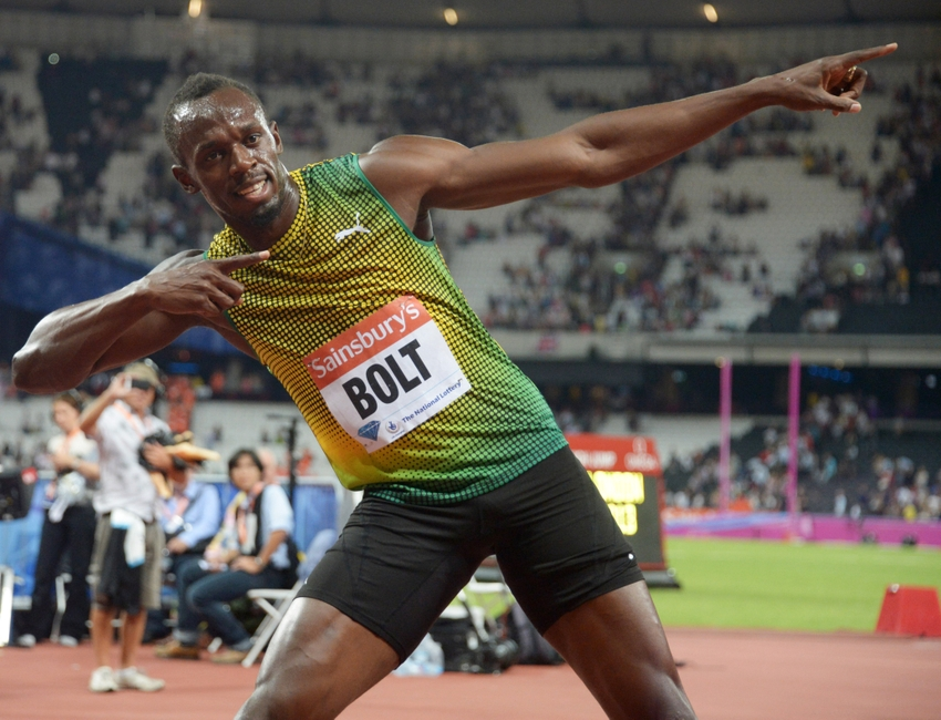 Jamaica dominated track and field section of the olympics