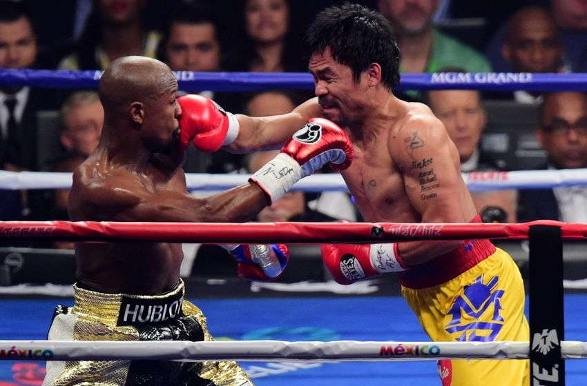 Floyd Mayweather vs Manny Pacquiao looks ON as Money Man confirms May ...