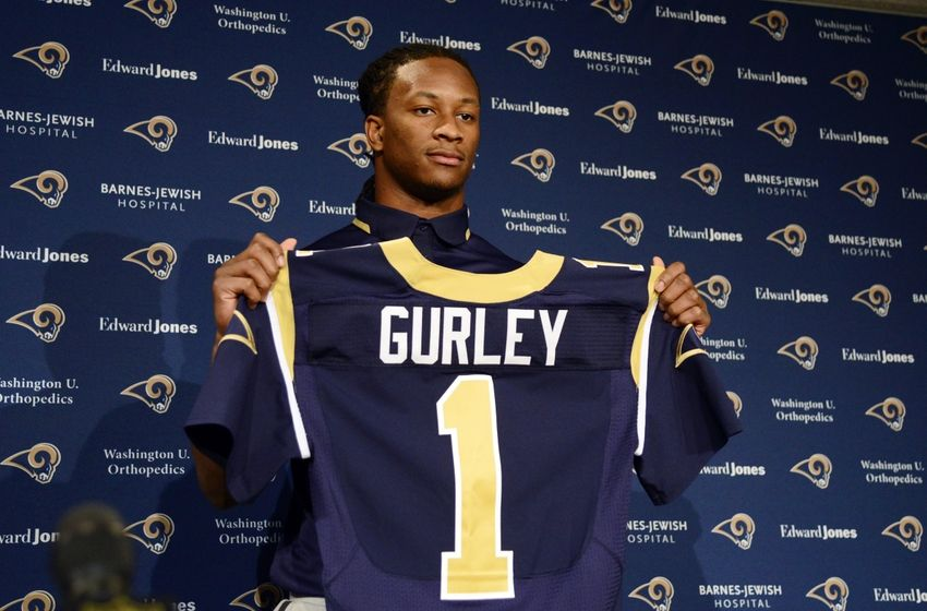 Todd Gurley Will Wear Zac Stacy S Old Number For St Louis Rams