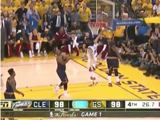 Kyrie Irving Blocks Steph Curry S Game Winning Shot Video