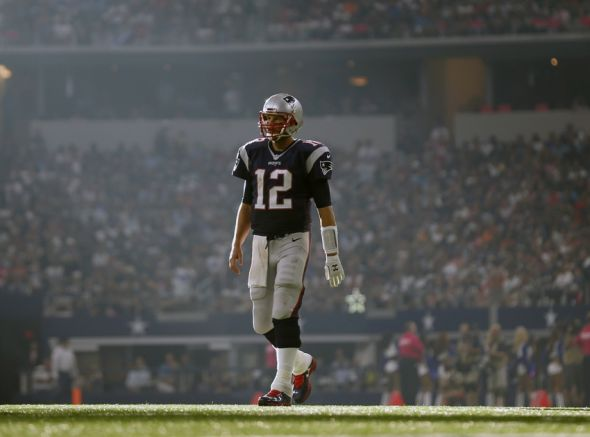 Tom Brady is playing football at a new elevation