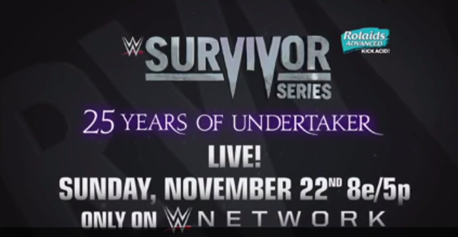 The Undertaker & Partners Facing The Wyatt Family At WWE Survivor Series?