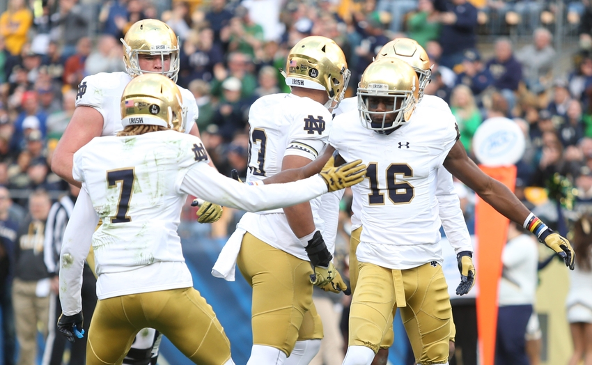 notre dame score yesterday college football playoff championship game