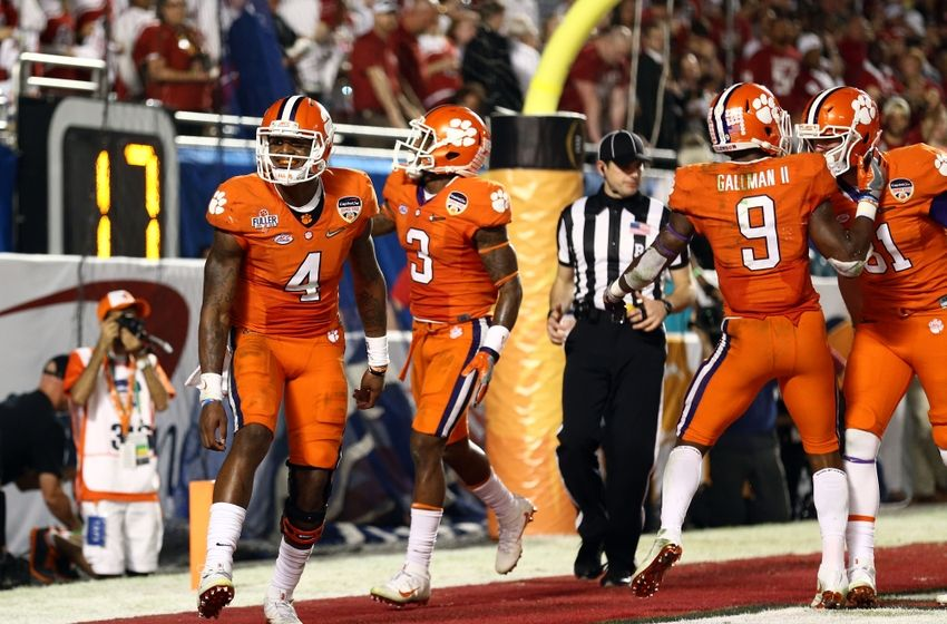 Live Updates From The Clemson-Oklahoma College Football Playoff