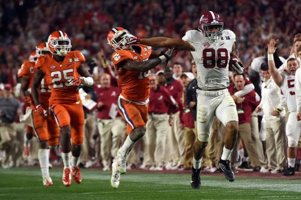 national championship football 2016 college foot ball scores