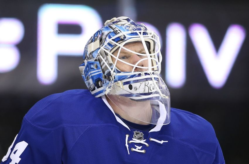 NHL Trade San Jose Sharks acquire James Reimer from Toronto Maple Leafs