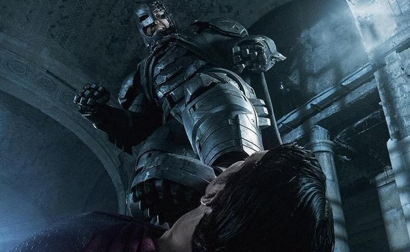Batman Vs. Superman: Batman & Nightmare Batman Concept Art