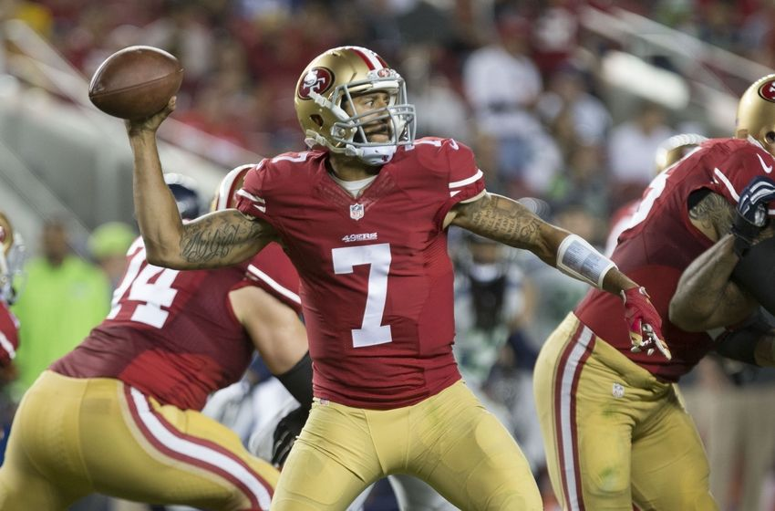 Kaepernick-to-Broncos deal hung up on compensation