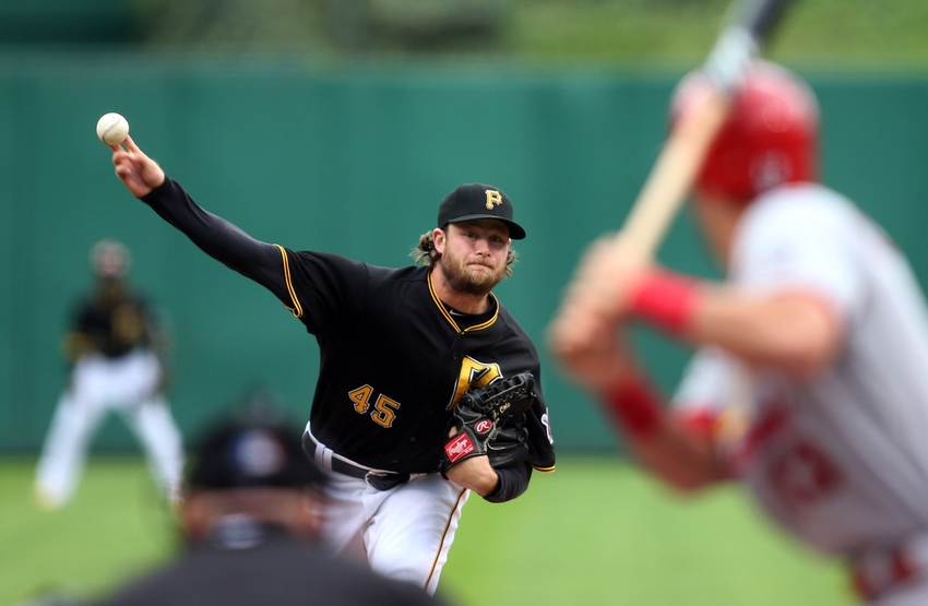 Gerrit Cole Pirates Playoffs MLB Opening Day 2016: ...