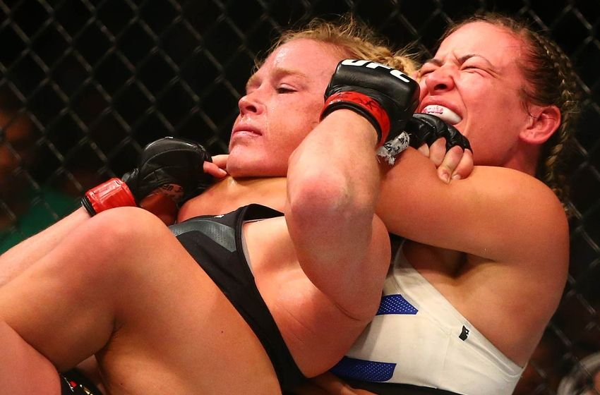 Miesha Tate Upsets Defending Champ Holly Holm