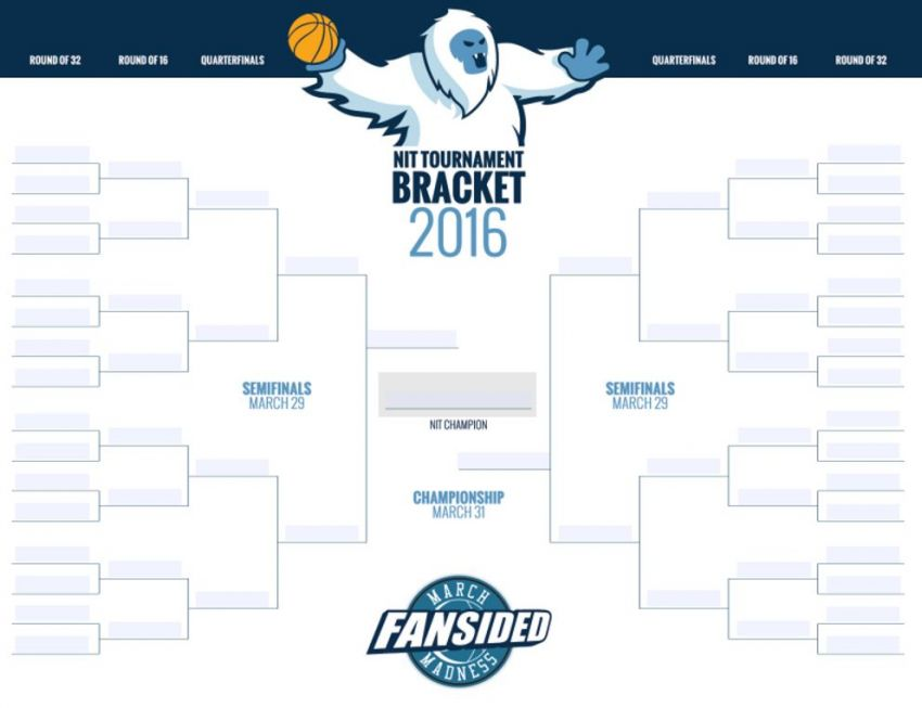 The field for the 2016 NIT will be revealed Sunday night at 8:30 p.m ...