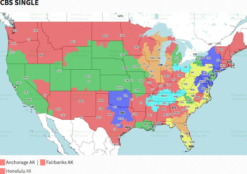 NFL coverage map 2016: TV schedule Week 6 | FOX Sports on us mail map, french spoken map, wifi service map, p.a map, rich people map, d'hara map, x files map, 9gag map, stage map, living room map, xbox live map, mobile coverage map, gps unit map, ntsc map, dc nightlife map, pmp map, sat map, ai map, region code map,