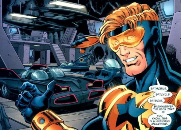 A Booster Gold movie has been confirmed