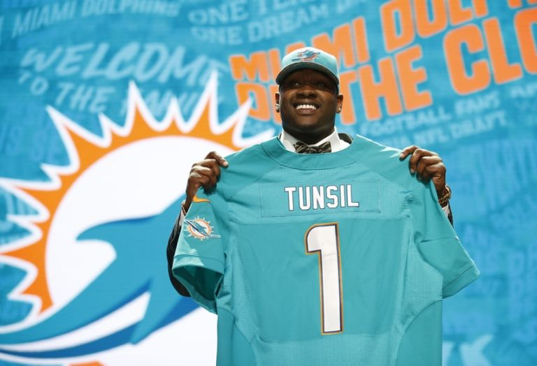 Jets nearly traded with Giants to draft Laremy Tunsil