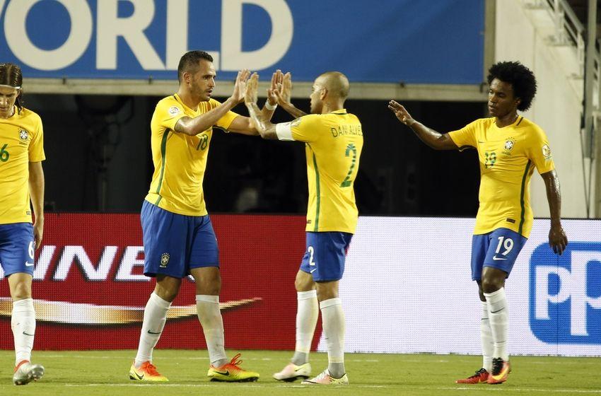 Jun 8 2016 orlando fl usa brazil midfielder renato augusto 18