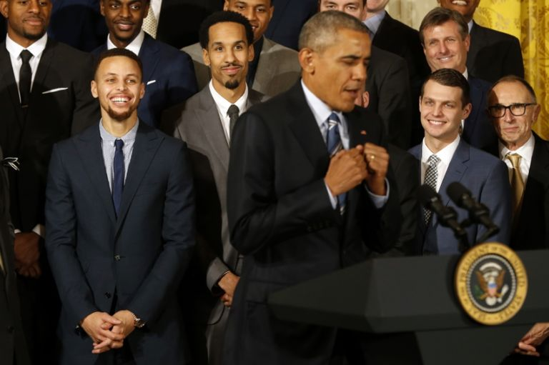 Stephen Curry President Obama Play Golf Together