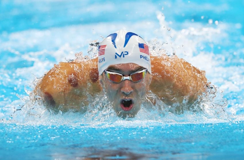 What Time Does Michael Phelps Swim For 200m Butterfly Gold