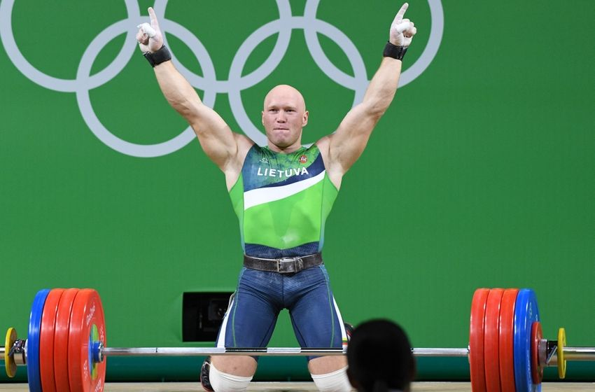 Image result for weightlifting images from rio 2016