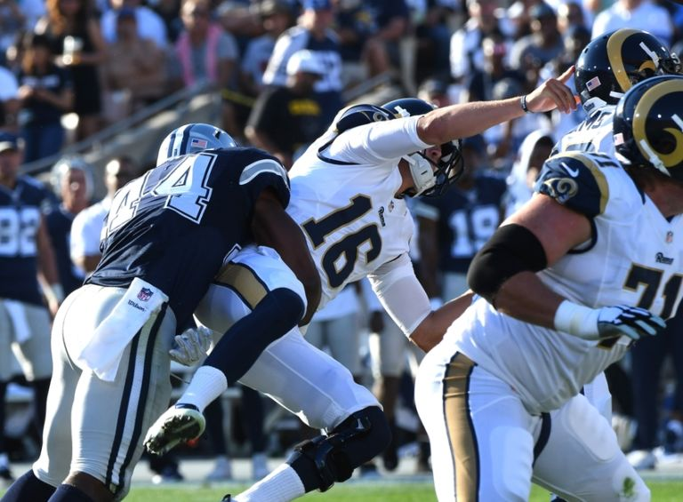 Nfl Roundup Jared Goff Stumbles In Debut Colin
