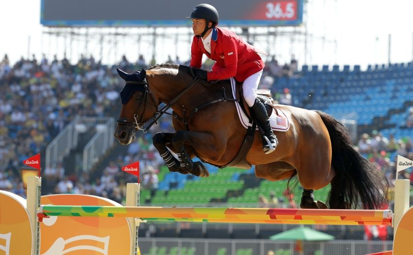 Olympic equestrian jumping qualifier results: August 14
