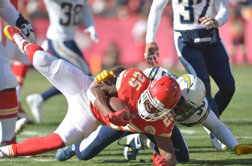 Chargers At Chiefs Week 1 Inactives