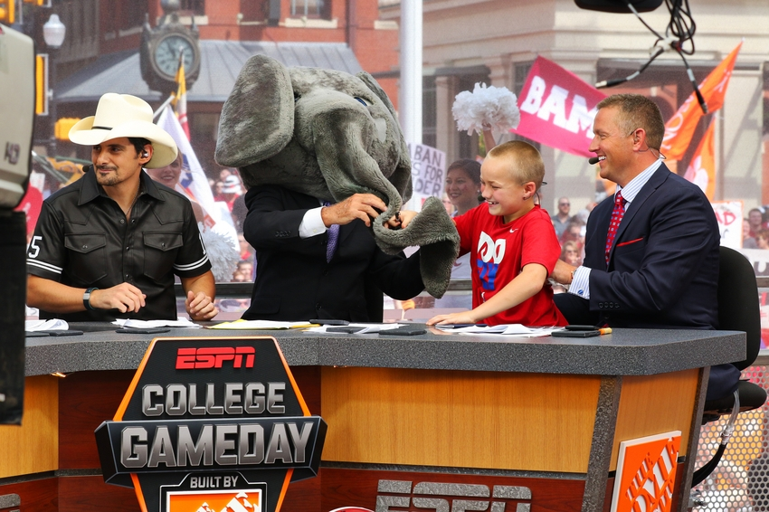 ESPN College GameDay live from Tuscaloosa for Week 8