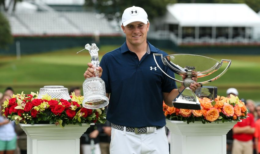 Jordan spieth takes helicopter to deliver game ball at homecoming video - Coca cola championship table ...