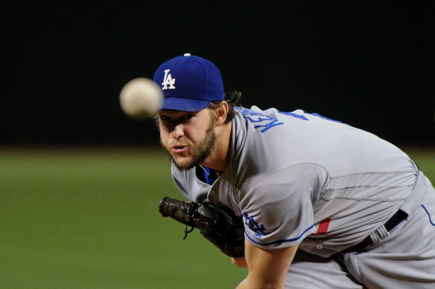 Dodgers Kershaw Gets First Career Save As La Beats
