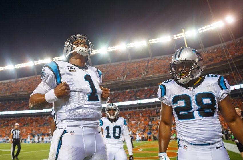 Cam Newton Injury Update Panthers Qb Leaves Opener Vs Broncos