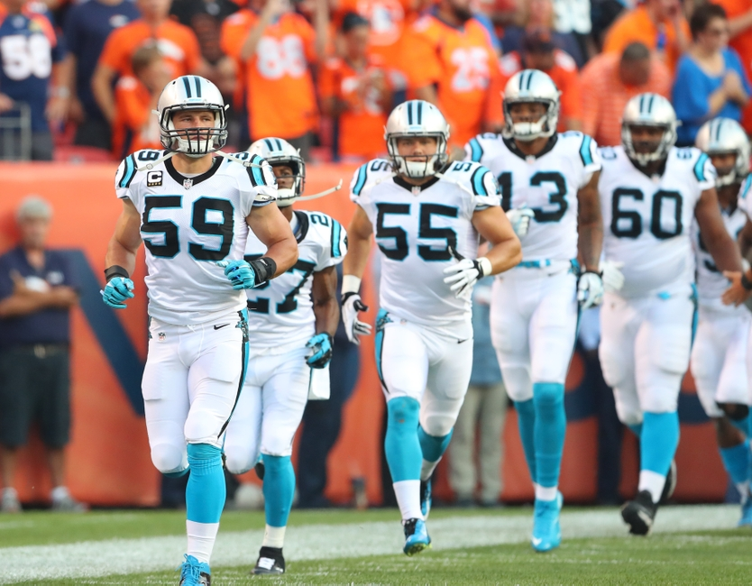 what nfl teams are in the playoffs panthers lines