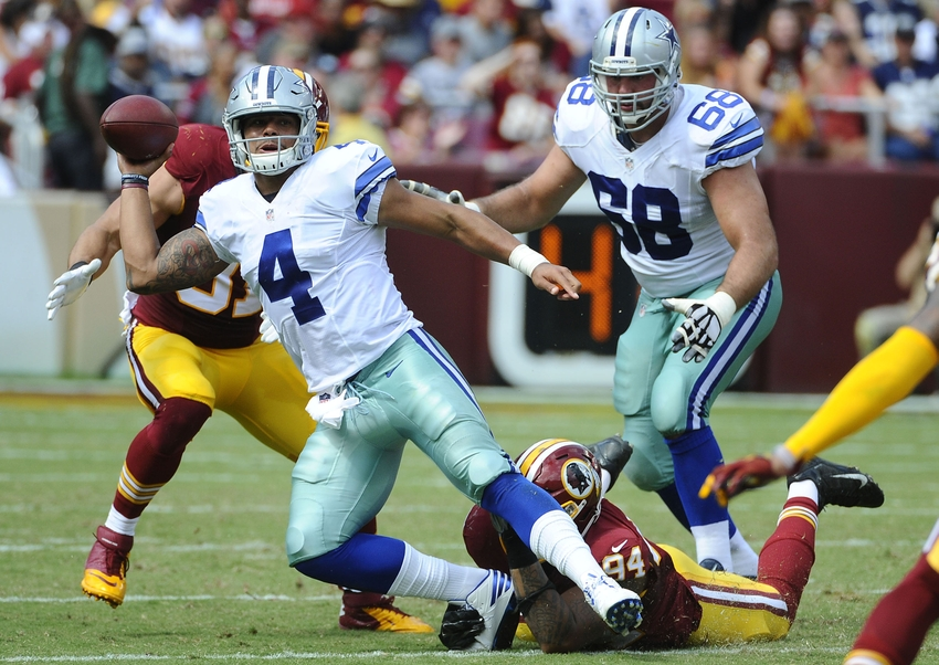 Cowboys At Redskins Highlights Score And Recap