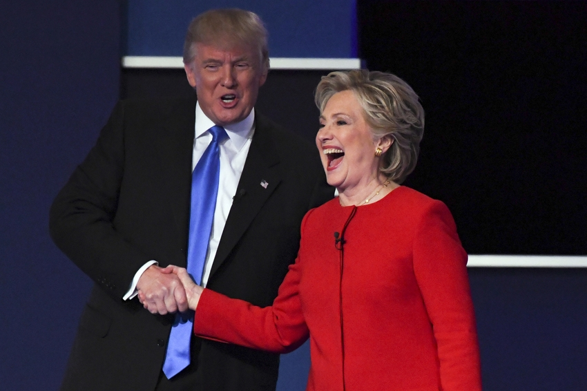 celebrity news hillary clinton donald trump presidential debate