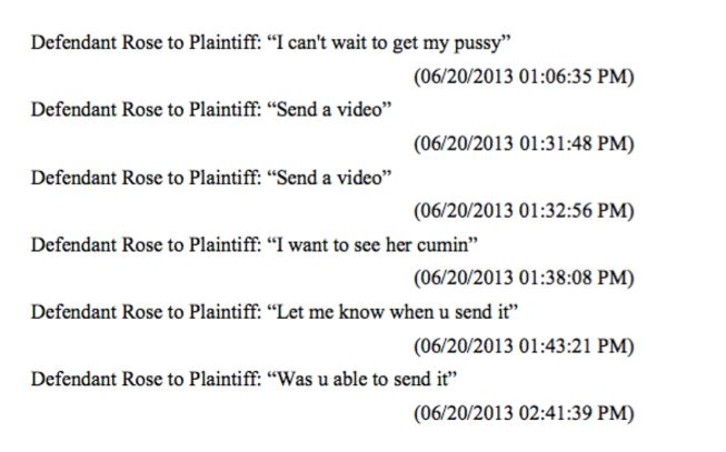 More texts from Derrick Rose to Jane Doe