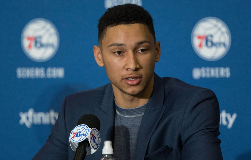 Ben Simmons Rumors: Agent won't let rookie play for 76ers ...