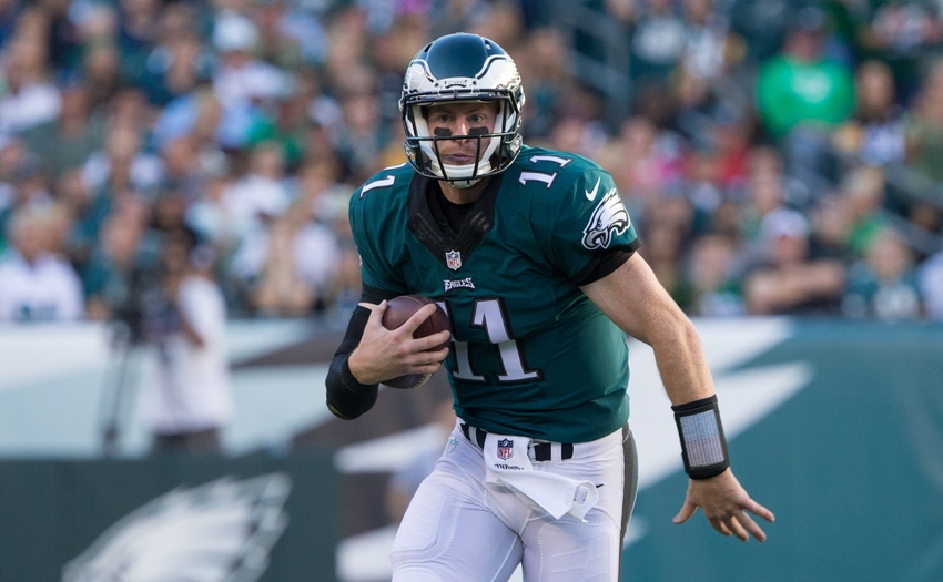 Eagles Lose On Carson Wentz S First Career Interception