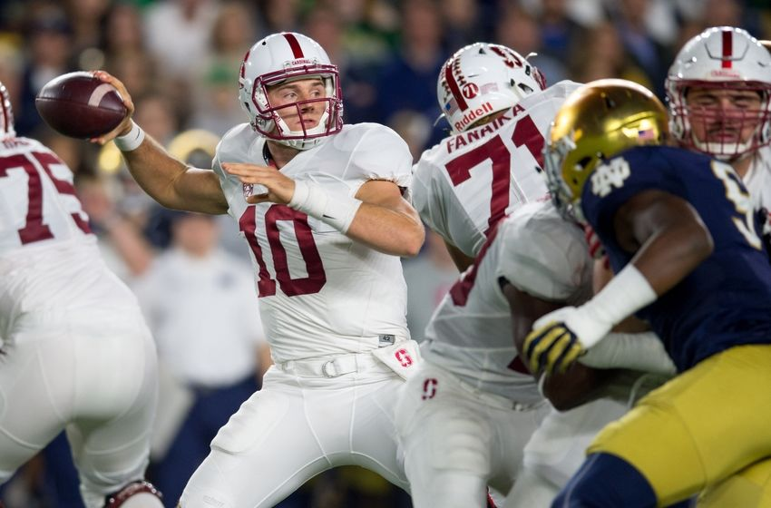 notre dame stanford score usa college football