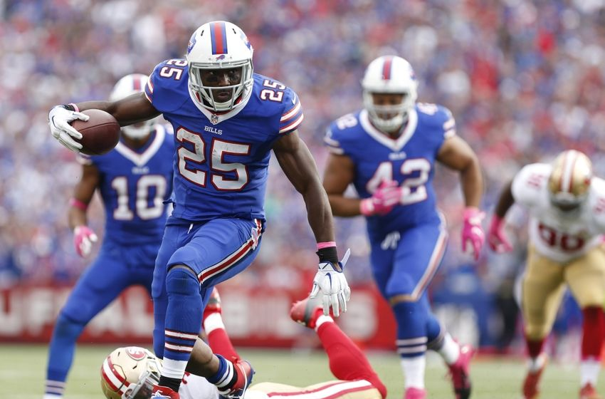 Report Bills Running Back Lesean Mccoy May Play Sunday
