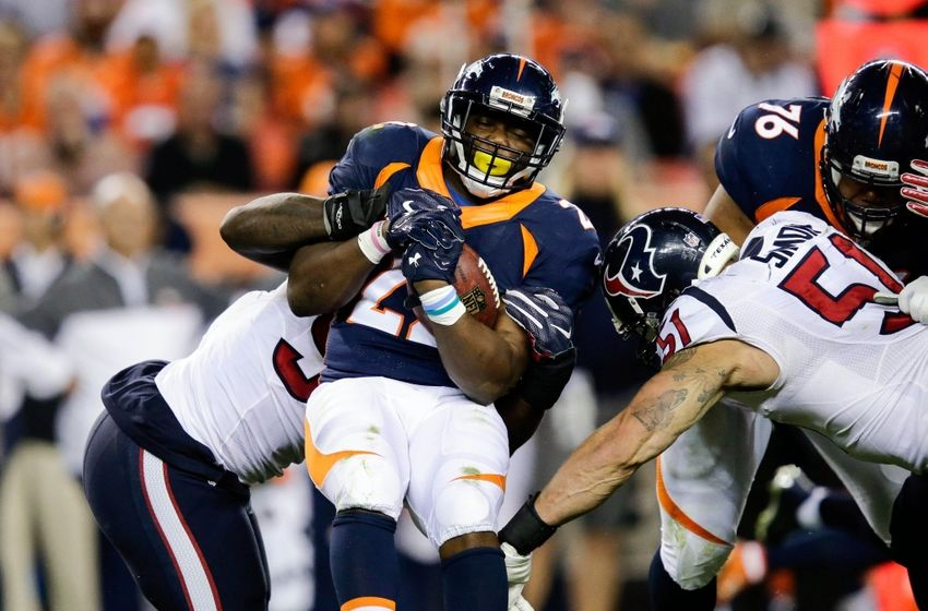 C J Anderson Injury Update Broncos Place Rb On Injured