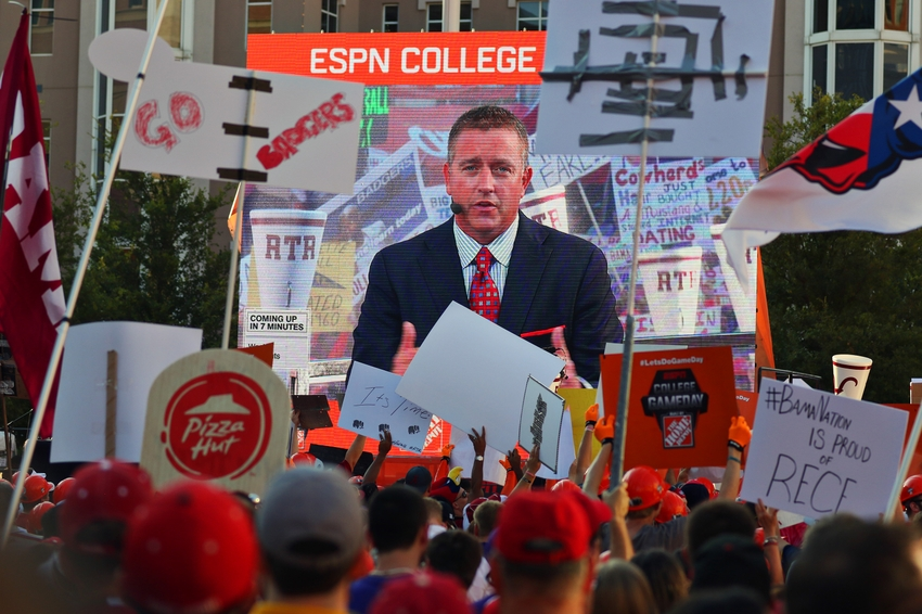 when was the first college football game college football gameday