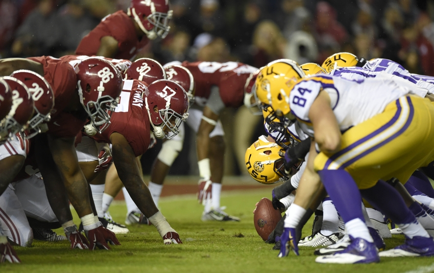 Playoff Committee places Crimson Tide as top team in initial rankings