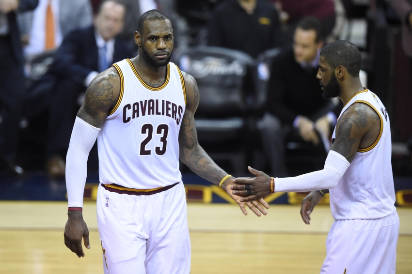 LeBron James has a new pick-and-roll combo we should all fear